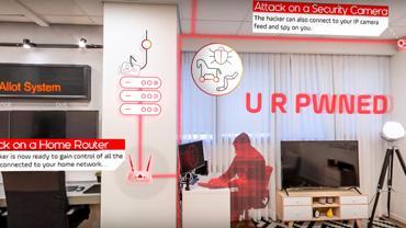 סרטוני תלת מימד - סרטון הדרכה - הגנה על מבית מפני התקפות האקרים
